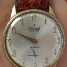 Relojes de pulsera: RELOJ RADIANT 21 RUBIS,8292,INCABLOC,PARA RECAMBIOS Ó PIEZAS. Lote 266718873