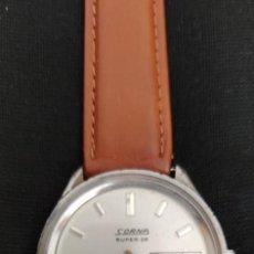 Relojes de pulsera: PRECIOSO RELOJ SORNA SUPER 28, WATERPROOF, FUNCIONA, DOBLE CALENDARIO.. Lote 267044399