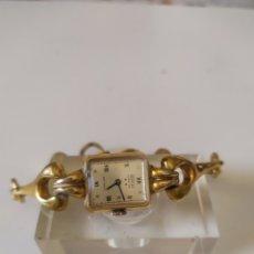 Montres-bracelets: RELOJ DE MUJER SUIZO MARCA PONTIAC CHAPADO EN ORO, AÑOS 50. Lote 267481774