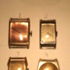 Relojes de pulsera: 4 RELOJES PULSERA MUY ANTIGUOS. Lote 267533749