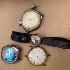 Montres-bracelets: LOTE DE RELOJES PARA REPARAR, IDEALES PARA RECAMBIO O REPARACIONES. Lote 267576284