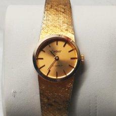 Relojes de pulsera: RELOJ DE PULSERA DE SEÑORA. FUNCIONANDO. ELEGANTE. 23 CTMS. MANUAL A CUERDA. FOTOS.. Lote 267720679