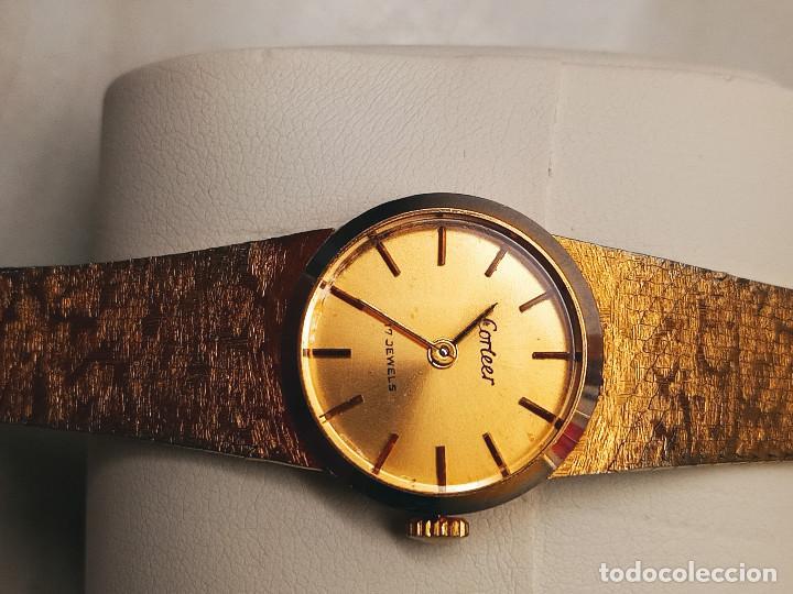 Relojes de pulsera: RELOJ DE PULSERA DE SEÑORA. FUNCIONANDO. ELEGANTE. 23 CTMS. MANUAL A CUERDA. FOTOS. - Foto 5 - 267720679