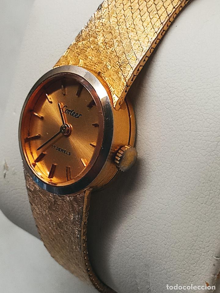 Relojes de pulsera: RELOJ DE PULSERA DE SEÑORA. FUNCIONANDO. ELEGANTE. 23 CTMS. MANUAL A CUERDA. FOTOS. - Foto 6 - 267720679
