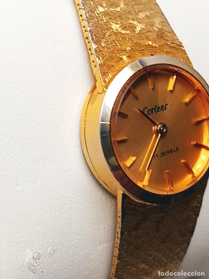 Relojes de pulsera: RELOJ DE PULSERA DE SEÑORA. FUNCIONANDO. ELEGANTE. 23 CTMS. MANUAL A CUERDA. FOTOS. - Foto 7 - 267720679