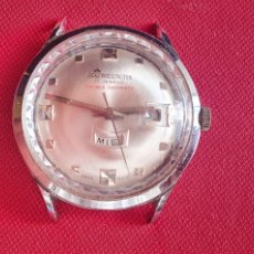 Montres-bracelets: RELOJ LORD WELLINGTON 17 JEWELS DOBLE DATOMATIC NO FUNCIONA.MIDE 36 MM DIAMETRO. Lote 267755504