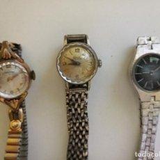 Relojes de pulsera: LOTE DE RELOJES DE PULSERA CERTINA,MOVADO,SEIKO. Lote 268296914