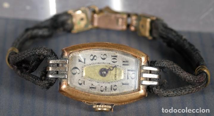 RELOJ DE PULSERA PARA SEÑORA HISPANIA CON CAJA EN ORO DE 18KL (Relojes - Pulsera Carga Manual)