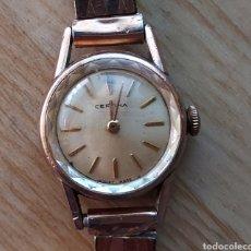 Relojes de pulsera: ANTIGUO RELOJ CERTINA CHAPADO ORO. Lote 268742649