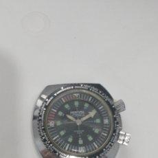 Relojes de pulsera: MORTIMA DIVER DOBLE CORONA. Lote 268893334