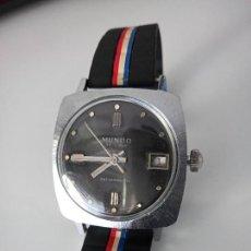 Relógios de pulso: RELOJ DE PULSERA MUNDO DE LUXE SWISS MADE A CUERDA. Lote 268980704