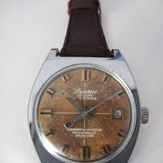 Relojes de pulsera: RELOJ DE PULSERA LUCERNE DE LUXE 37TH AVENUE SWISS MADE MECANICO. Lote 268986384