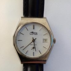 Relojes de pulsera: RELOJ DE PULSERA LOTUS CON CALENDARIO MECANICO. Lote 268992419