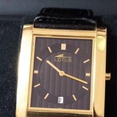 Relojes de pulsera: RELOJ DE PULSERA LOTUS CON CALENDARIO PARA HOMBRE. Lote 268993769