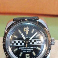 Montres-bracelets: TIMEX CORDA ANOS 74 FORMULA 1 FITTIPALDI. Lote 269149078