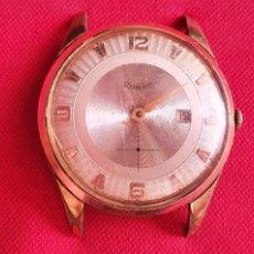 Relojes de pulsera: RELOJ ROM-NO FUNCIONA .MIDE 37.4 MM DIAMETRO. Lote 269240168