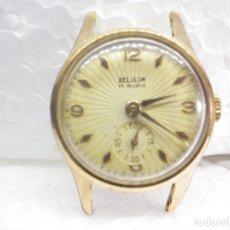 Relojes de pulsera: PRECIOSA JOYA PARA REPARAR BELSON AÑOS 50 CHAPADO EN ORO COMPLETO LOTE WATCHES. Lote 269815248