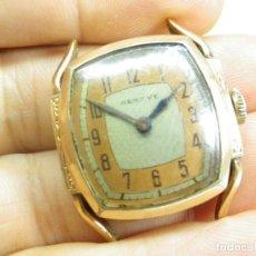 Relojes de pulsera: GRAN JOYA GENEVE MILITAR ORO ROSA 10K MASTER SUTTON DE LA FEDERACION RUSA LEER. Lote 269822948