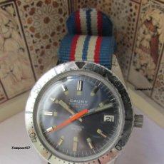 Relojes de pulsera: CAUNY SUBMARINE DIVER VINTAGE. Lote 270527113