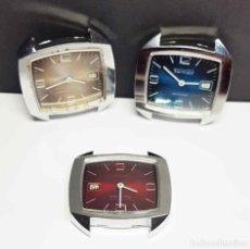 Relojes de pulsera: LOTE 3 RELOJES THERMIDOR, DE CUERDA, VINTAGE, C1970 NOS. Lote 271374988