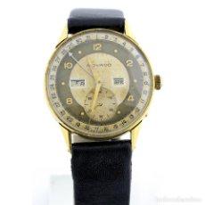 Relojes de pulsera: MOVADO. RELOJ DE CABALLERO DE MOVIMIENTO COMPLEJO. ORO 18K. SUIZA, CA. 1930. Lote 275028543