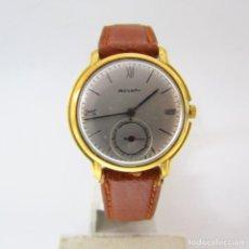 Relojes de pulsera: MOVADO. RELOJ DE PULSERA UNISEX. ORO 18K. CA. 1950-1960. Lote 275028708