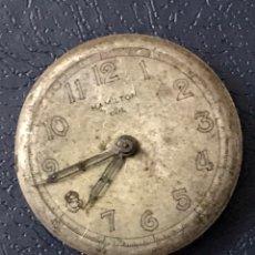 Relógios de pulso: MAQUINARIA RELOJ HAMILTON NORDON CLD AÑOS 40S. Lote 275618613
