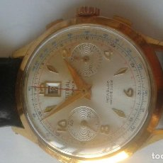 Relógios de pulso: RELOJ CRONOGRAFO ASTRAL CON CALENDARIO A LAS 12. Lote 276258628