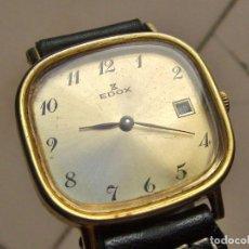 Relojes de pulsera: EDOX - RELOJ DE PULSERA FUNCIONANDO. Lote 276279048