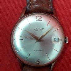 Relojes de pulsera: RELOJ TITAN AUTOMÁTICO DE CABALLERO, AÑOS 60. Lote 277139303