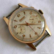 Relógios de pulso: RELOJ DE PULSERA EXACTUS CRONÓMETRO CRONÓGRAFO, BAÑO DE ORO, PARA REPARAR. Lote 277175523