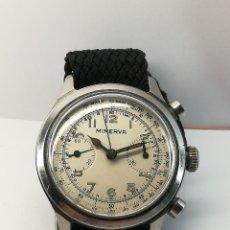 Relojes de pulsera: RELOJO CRONOGRAFO MIDO MULTICHRONO 1935 CALIBRO MINERVA 13-20 CH ESTREMAMENTE RARO DA COLLEZIONE. Lote 277291058