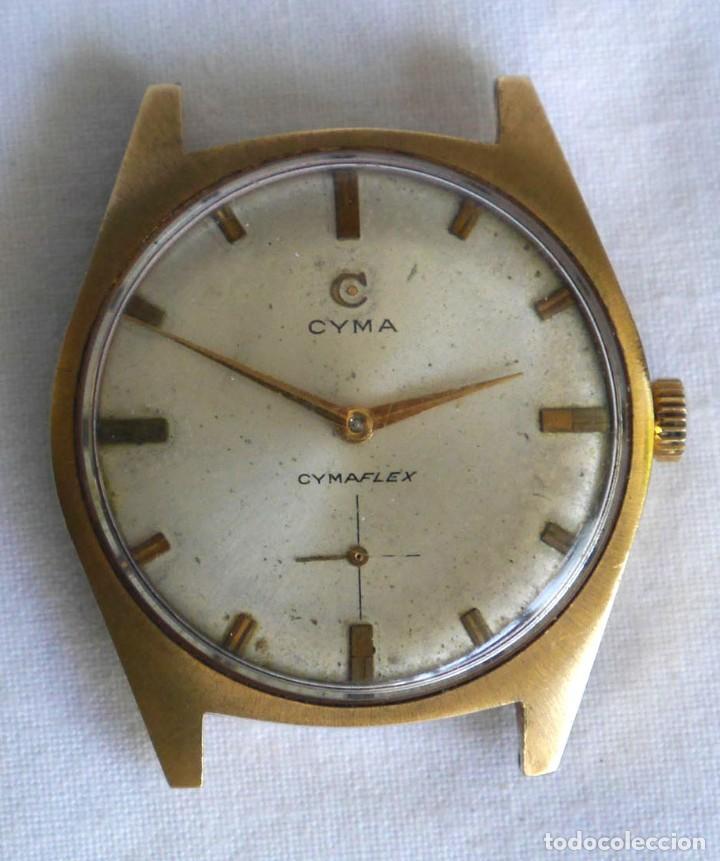 Relojes de pulsera: Reloj de pulsera a cuerda CYMA para reparar - Foto 2 - 277647443