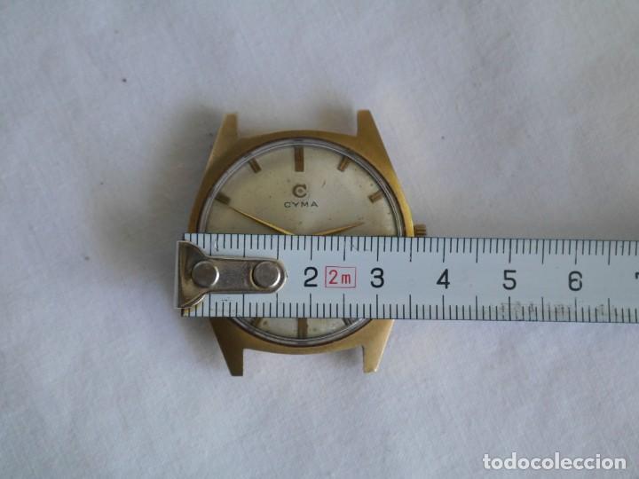 Relojes de pulsera: Reloj de pulsera a cuerda CYMA para reparar - Foto 3 - 277647443