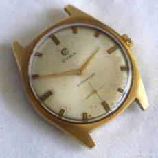 Relojes de pulsera: RELOJ DE PULSERA A CUERDA CYMA PARA REPARAR. Lote 277647443
