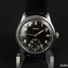 Relojes de pulsera: ANTIGUO RELOJ ALEMAN DE CUERDA NISUS SEGUNDA GUERRA MUNDIAL. Lote 277738308