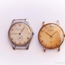 Relojes de pulsera: 2X RELOJ DOGMA+DUWARD UT UNITAS 37MM. Lote 277741833