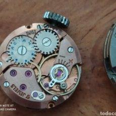 Relojes de pulsera: 2 MAQUINARIAS DE RELOJ SUIZAS DE CUERDA PARA PIEZAS RADIANT DE MUJER. Lote 277746488