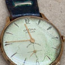 Relojes de pulsera: RELOJ DOGMA PRIMA CARGA MANUAL PARA PIEZAS. Lote 277752673