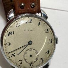 Relojes de pulsera: RELOJ CYMA CARGA MANUAL MUY GRANDE 42 MM ANTIGUO. Lote 277755333