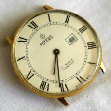 Relógios de pulso: RELOJ DE CUERDA POTENS PARA REPARAR O PIEZAS. Lote 278590138