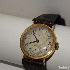 Relojes de pulsera: ANTIGUO RELOJ DE PULSERA CARGA MANUAL DE ORO 18 KL. MARCA CYMA , ESTADO DE MARCHA 39X3,5 CM.. Lote 278877968