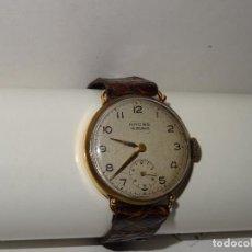 Relojes de pulsera: ANTIGUO RELOJ DE PULSERA DE ORO 18KL.CARGA MANUAL MARCA ANCRE 15 RUBIS PRECISA REPASO. Lote 278878933