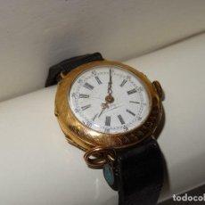 Relojes de pulsera: RELOJ DE SEÑORA DE ORO,ANTIGUO DE COLGAR TRANSFORMADO A PULSERA AÑOS 50 ESTADO DE MARCHA. Lote 278880763