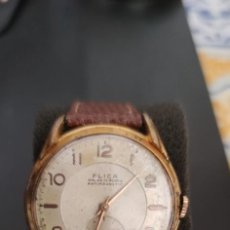 Relojes de pulsera: PRECIOSO RELOJ DE CARGA MANUAL FLICA, VINTAGE, FUNCIONANDO.. Lote 278934573