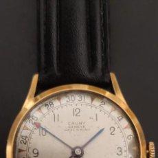 Relojes de pulsera: CAUNY GENEVE 4 AGUJAS, DE CARGA MANUAL, MUY RARO, FUNCIONANDO. VINTAGE.. Lote 278939413