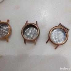 Montres-bracelets: LOTE DE RELOJES DE PULSERA LONGINES SWISS MADE CAJAS PLAQUE DE ORO. Lote 279324228