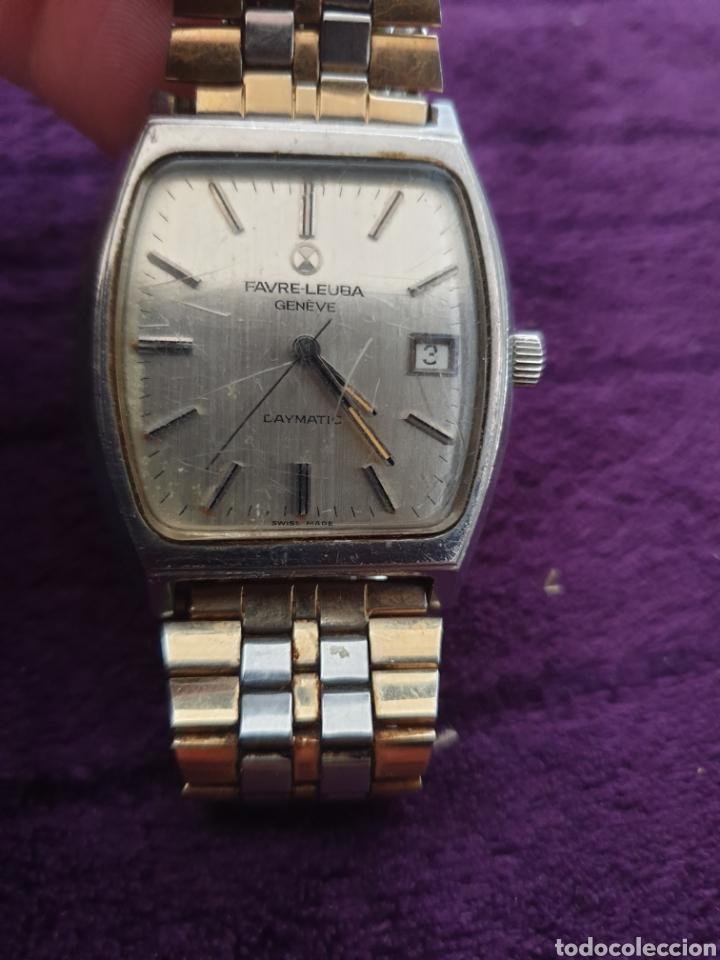 ANTIGUO RELOJ CARGA MANUAL FAVRE-LEUBA GENEVE (Relojes - Pulsera Carga Manual)