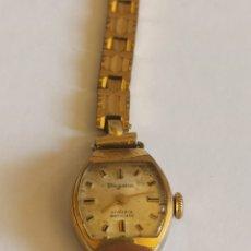 Relojes de pulsera: RELOJ VINTAGE MARCA DUGENA 17 RUBÍES PLACADO CON ORÓ 18K CUERDA MANUAL. Lote 280901008