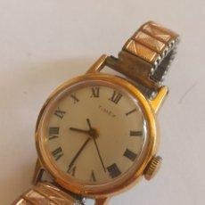Relojes de pulsera: RELOJ VINTAGE MARCA TIMEX CUERDA MANUAL. Lote 280902153